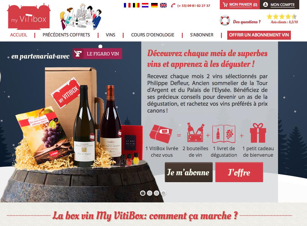 My Vitibox : Box vin