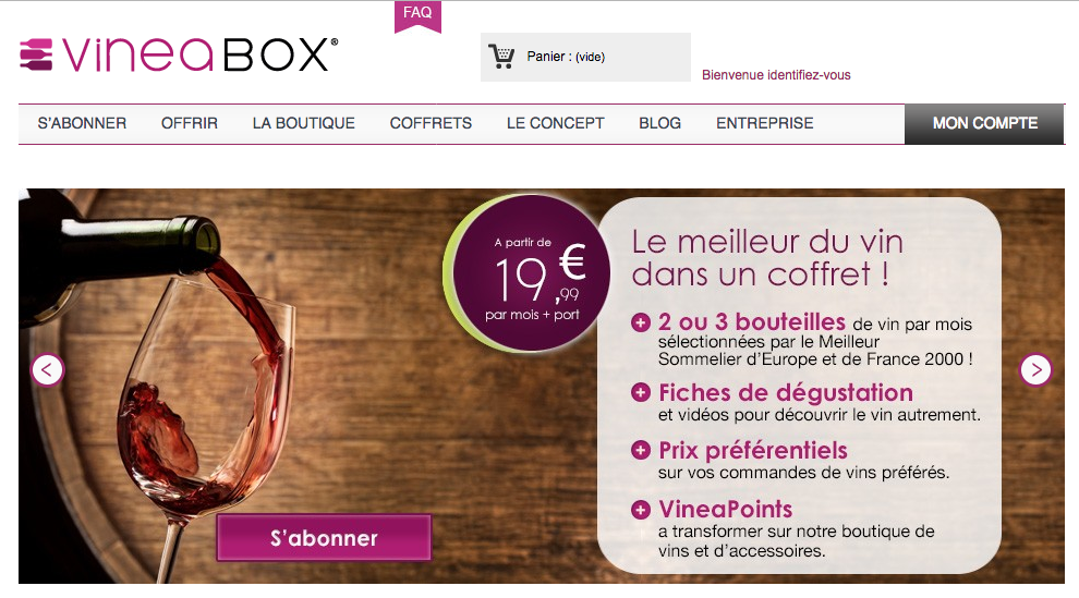 Vineabox : La meilleure box vin