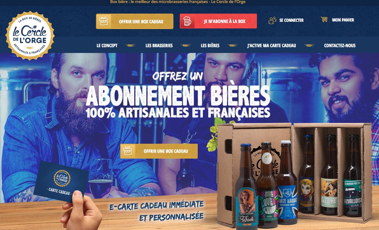 Le Cercle de l'Orge : Abonnement bière 100 % artisanales