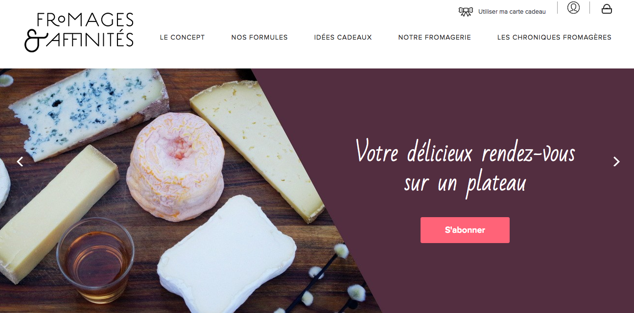 fromage et affinite