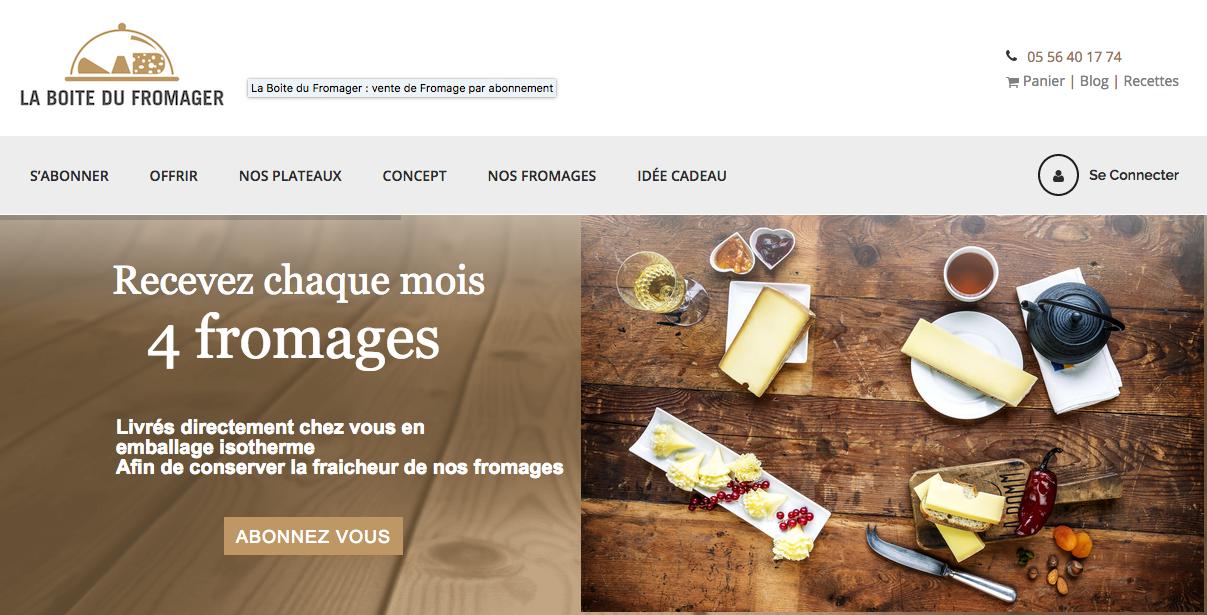 La boite du fromager : La meilleure box fromage
